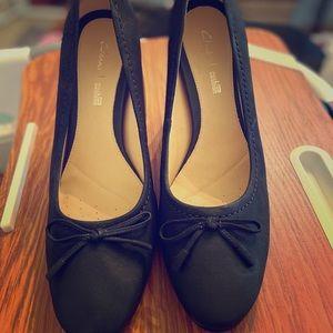Clark Plus Cushion comfort heels